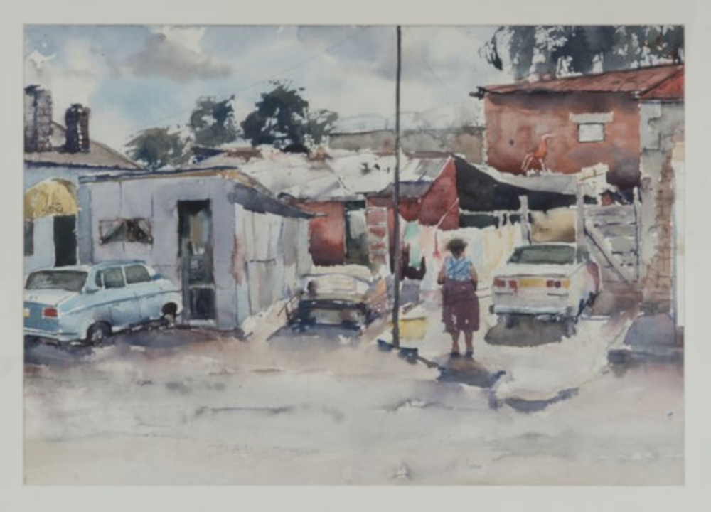 Art Biography: Durant Sihlali