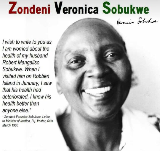 Mama Sobukwe Honoured